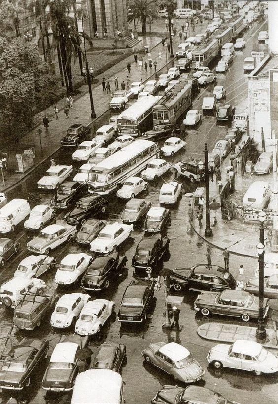 centro de São Paulo - década de 60: