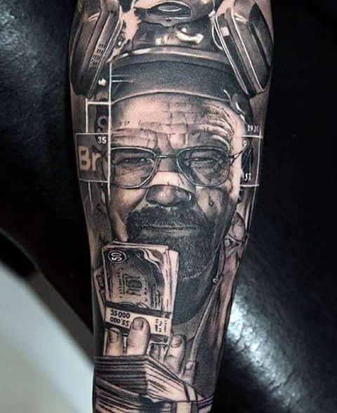 50 Breaking Bad Tattoo Designs For Men Walter White Ink Ideas