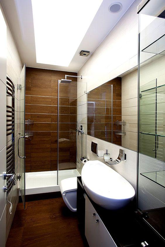 Modern on pinterest for Kleine badezimmer