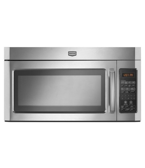 2.0 cu. ft. Over-the-Range Microwave With Hidden Vent (MMV4203WS Stainless Steel)