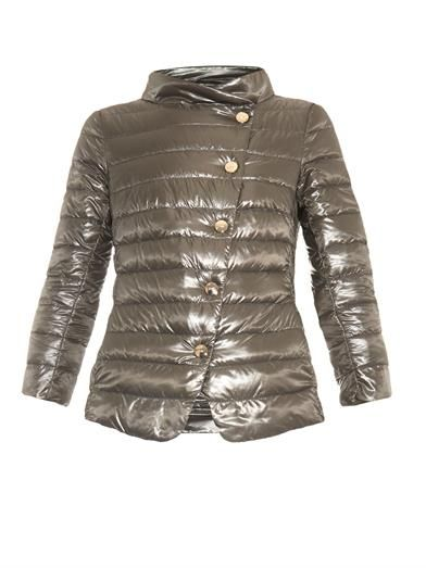 Lightweight quilted-down jacket | Herno | MATCHESFASHION.COM ...
