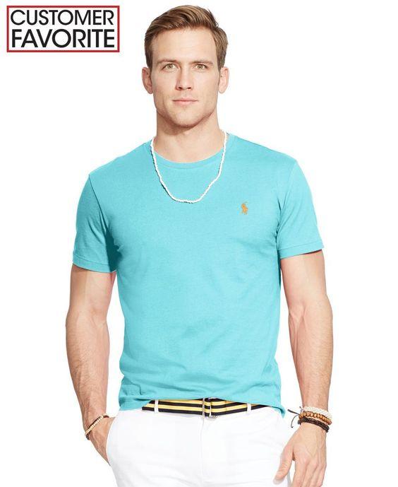 Polo Ralph Lauren Custom-Fit Jersey Crewneck
