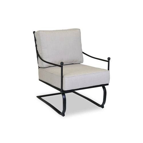 Sunset West 3201 21r 5492 Provence Club Rocker Chair In Flax Ivory