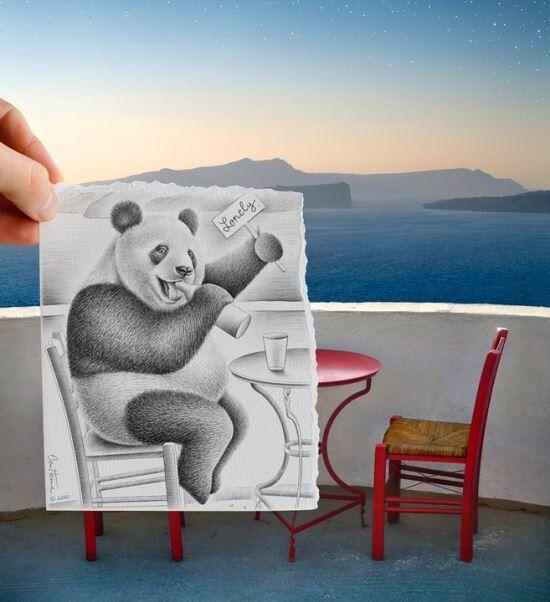 Amor em forma de panda