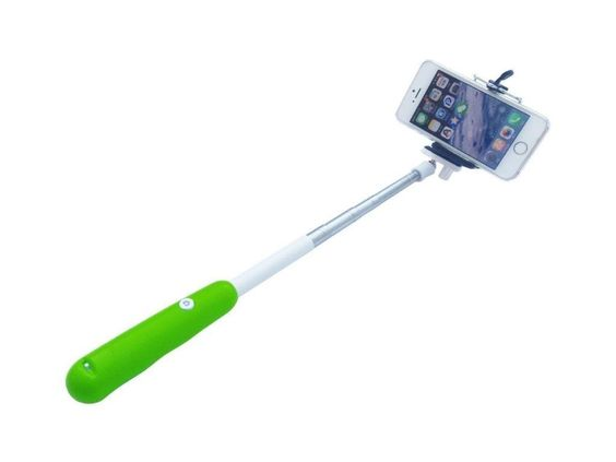 KINGCO Universal Wireless Extendable Self-portrait Bluetooth Monopod Handheld Selfie Stick Monopod for iPhone Samsung and other IOS and Android Smartphone (Green) Extendable handheld selfie stick for iPhone 4 5 5s, Samsung S3 S4 Adjustable phone adapter fits all phone width less than 8.5 cm Build-in Shutter Release to easily grasp the wonderful moment without regret Compatible with android 4.0 OS or newer and iOS 5.0, 6.0, 7.1 or newer Easy to use