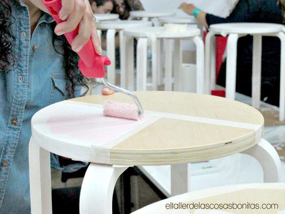 Cómo personalizar y pintar muebles | el taller de las cosas bonitas