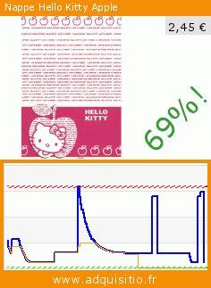 Nappe Hello Kitty Apple (Jouet). Réduction de 69%! Prix actuel 2,45 €, l'ancien prix était de 7,96 €. https://www.adquisitio.fr/bbs/nappe-hello-kitty-apple
