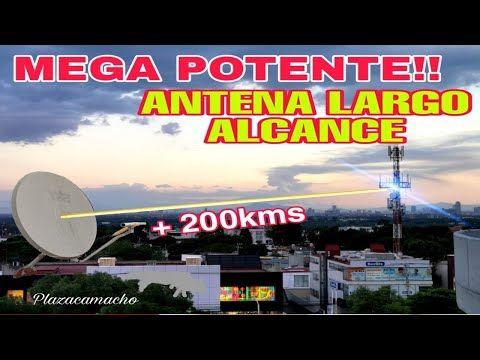 Antena Mega Potente Pará Televisión Parabólica Modificada Youtube Antenas Antenas Para Tv Antena Hd Casera