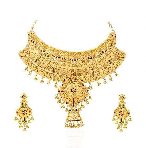 15 Modern Gold Necklace Designs In 30 Grams Necklace Designs