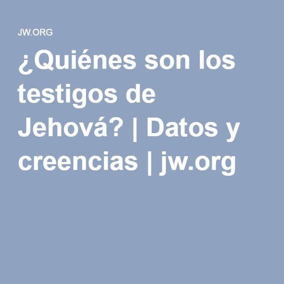 ¿Quiénes son los testigos de Jehová? | Datos y creencias | jw.org