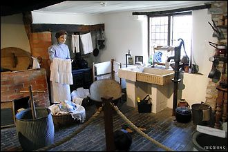 Inside Mary Arden's House, Wilmcote: