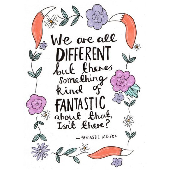 Fantastic Mr Fox A5 quote print by KayleyDraws on Etsy