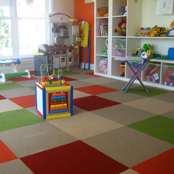 Playroom carpet tiles by flor funky floors pinterest for Kids room carpet