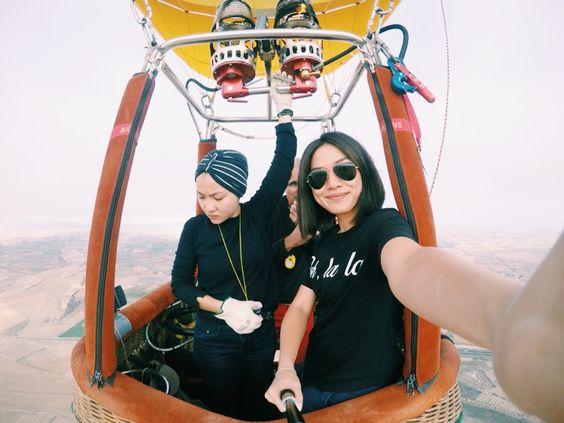 Around peninsular Malaysia in a balloon