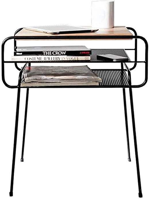 Nightstand Simple Modern Wrought Iron Nightstand Nordic Small Table End Tables Bedside Or Table Wi In 2020 Simple Bedside Tables Simple Nightstand Modern Bedside Table