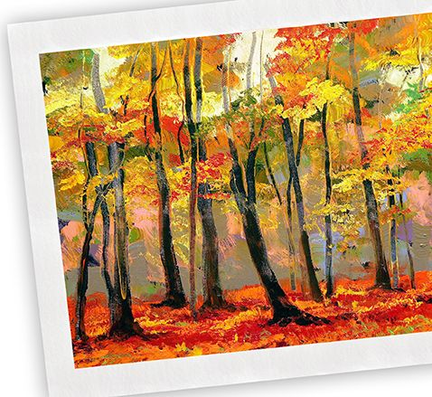 Giclée Printing creates fine art prints from a digital source using ink-jet technology.