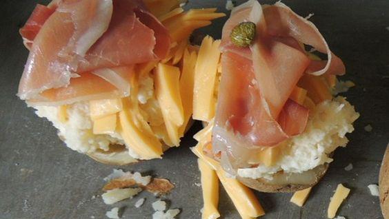 Receita de batata assada com prosciutto e zero de dificuldade | Casa | Itmãe