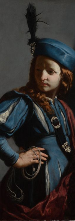 Detail of David with the Head of Goliath by Guido Cagnacci,... #ShareArt - https://wp.me/p6qjkV-dUw  #Art