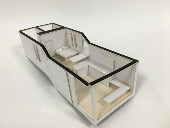 Model of dwelling unit