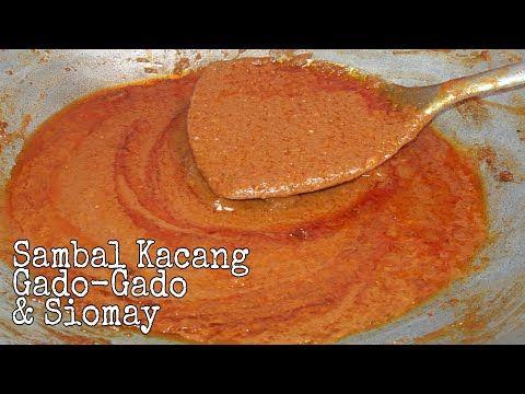 Resep Sambal Kacang Enak Untuk Gado Gado Dan Siomay Youtube Kacang Resep Masakan Indonesia Resep