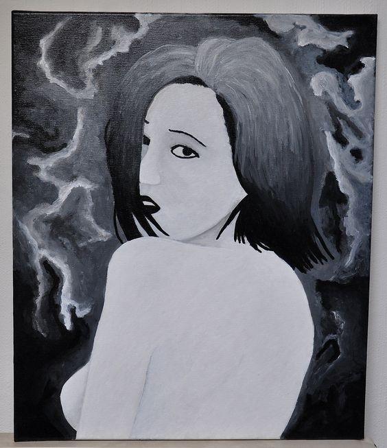 acrylic 60x50cm