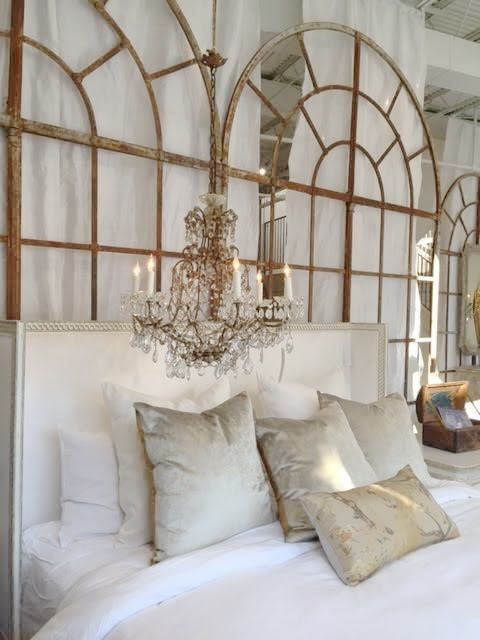 Bedroom decor inspiration. French and Gustavian Design Style from Eloquence.