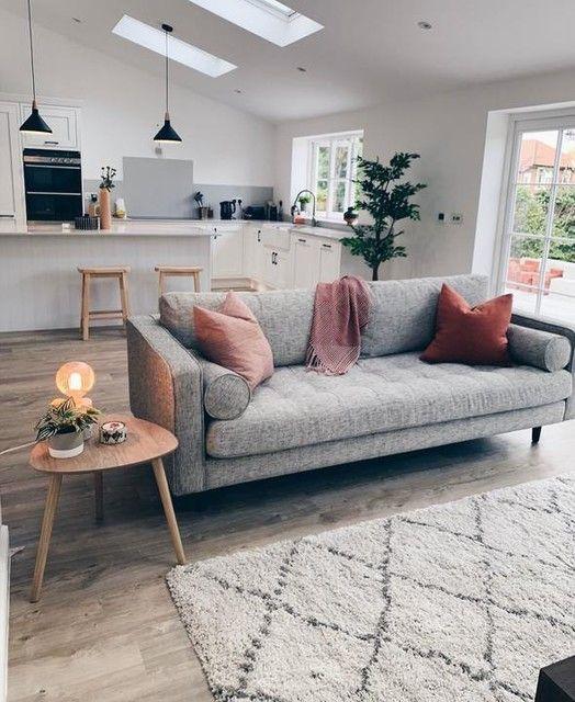 Made Com Canapes 2 Places Gris En 2020 Canape 3 Places Tissu Mobilier De Salon Et Decoration Maison