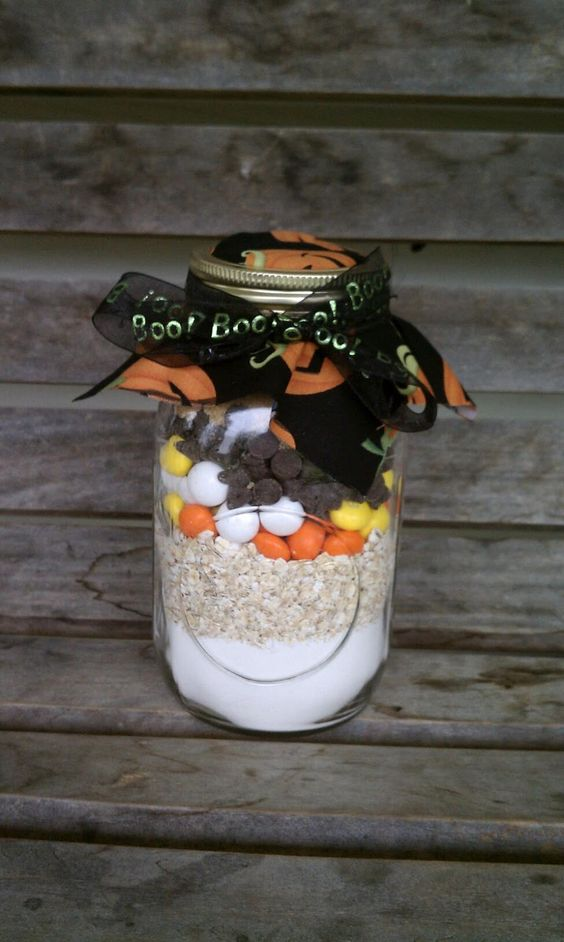 """Halloween version of Cowgirl Cookies from """"The Bi-Polar Prepper"""""""