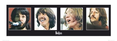 The Beatles LET IT BE PORTRAITS Premium Gallery Poster Print  ~ Available at www.sportsposterwarehouse.com