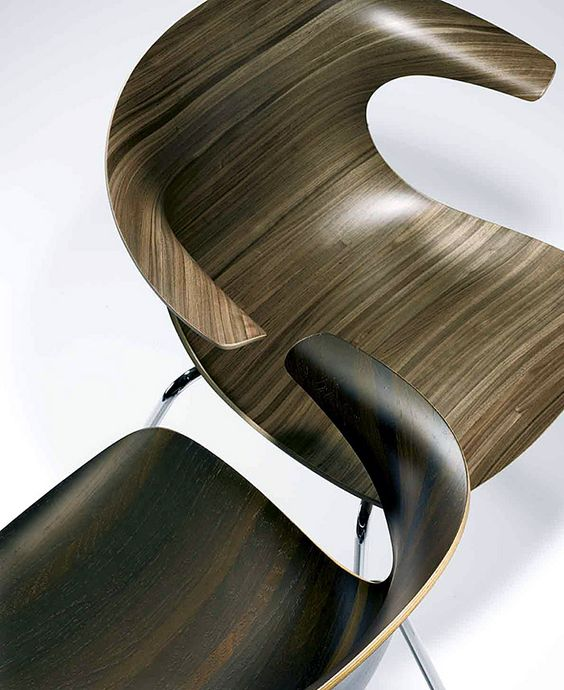 will own.  stacking chair by Infiniti Design