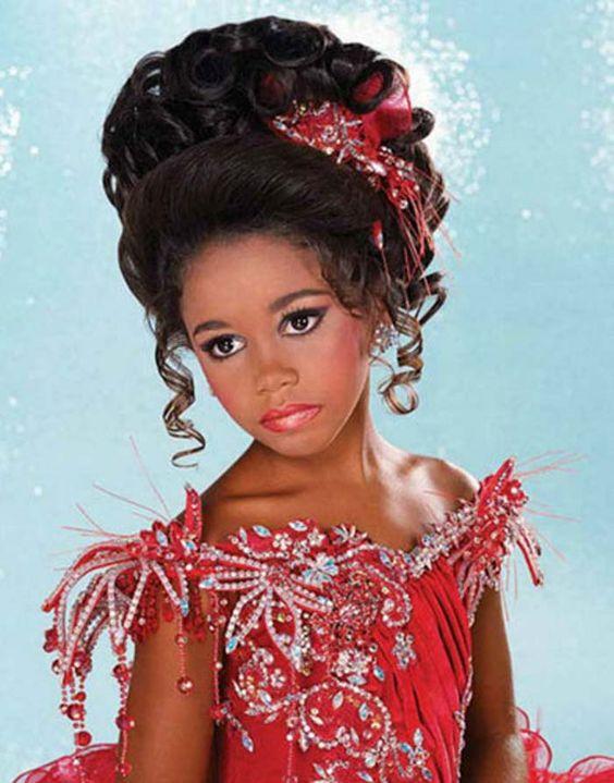 Surprising Kid Hairstyles Hairstyles For Weddings And Pageant Hairstyles On Hairstyles For Women Draintrainus