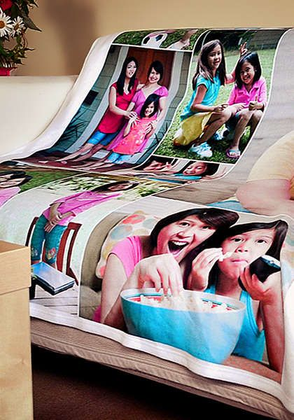 treasureknit photo blankets your photo is actually woven knitted