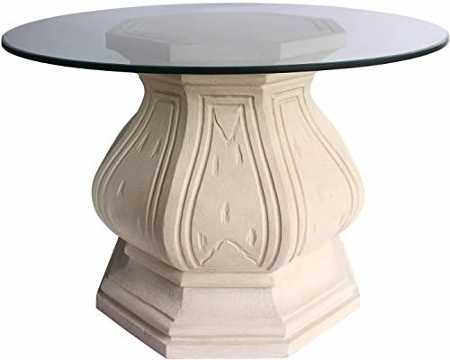 Buy Anderson Teak Louis Xiv Pedestal Table Natural Beige Online Prettytoppro In 2020 Pedestal Table Beige Living Room Furniture Teak