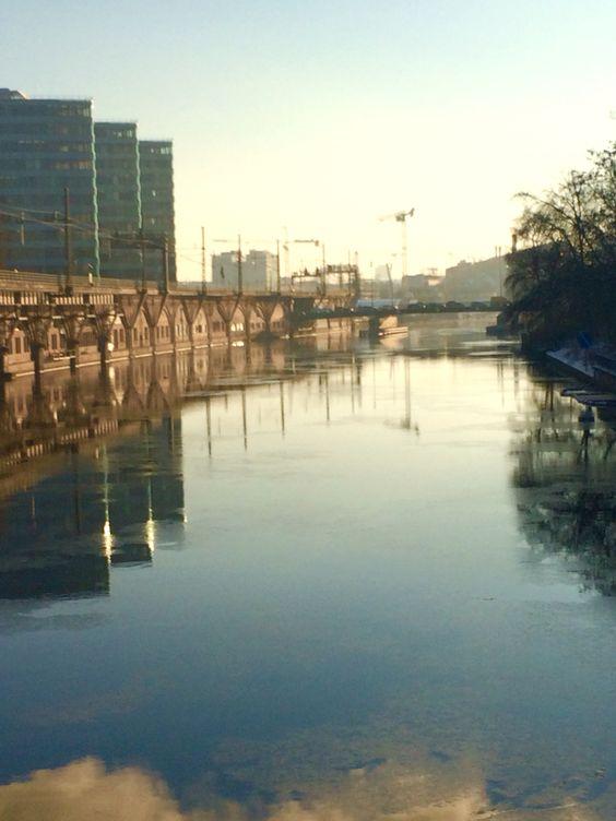 Jannowitzbrücke Berlin Ein Morgen in Berlin.