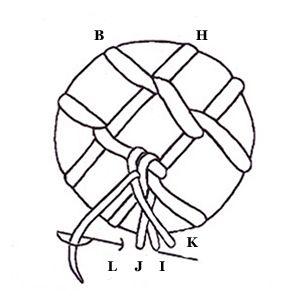 Cretan and Herringbone (Variation 2)