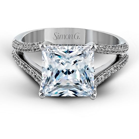 Diamond engagement rings Engagement rings and Engagement on Pinterest