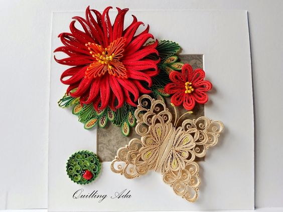 Quilling by Ada: Feerie