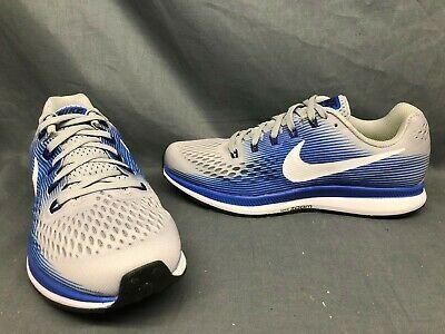 Nike Herren Air Zoom Pegasus 34 Laufschuhe Grau Blau Grosse 8 5 Anzeigemodell In 2020 Nike Running Shoes For Men Sneakers Grey