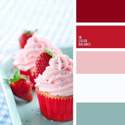 celeste pastel, celeste y blanco, color baya de fresa, color fresa, color rosa fresa, elección del color, paleta de colores para decorar una boda, paleta de colores para una boda, rosado claro, selección de colores para decorar una boda.