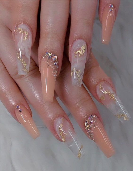 Modern Nail Style Ideas To Try In 2020 In 2020 Modern Nails Bling Acrylic Nails Really Cute Nails