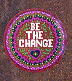 be the change car magnet
