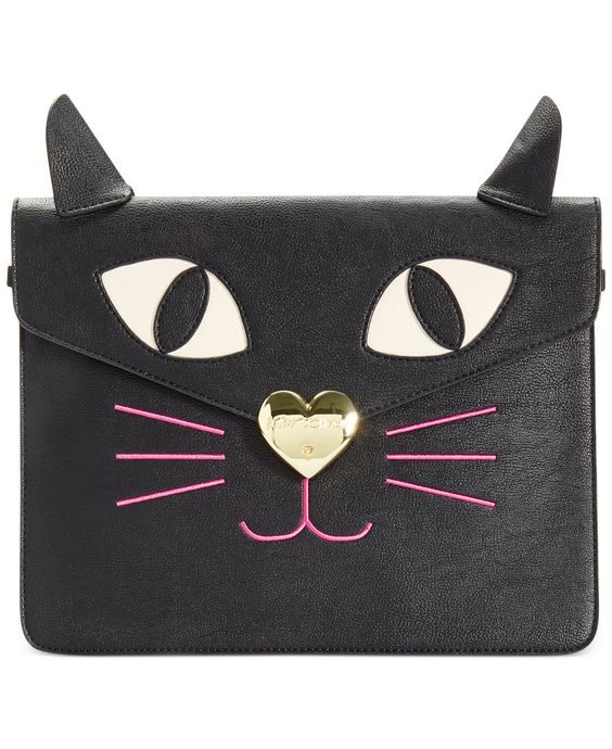 Betsey Johnson Kitchi Cat Clutch - All Handbags - Handbags & Accessories - Macy's