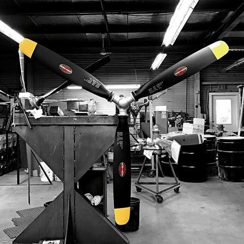 3 Bladed Hamilton Standard F4u Corsair Wwii Warbird Mini Aviation Art Airplane Propeller Wall Blade Display Airplane Propeller Propeller Wall Wwii Airplane