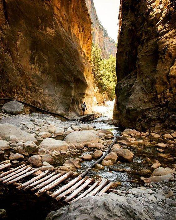 samaria gorge, crete, greece | nature photography #adventure