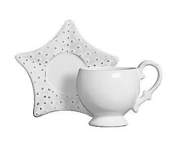 Xícara de Chá com Pires Oceano Provence - 230ml                              …