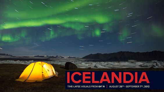 """Awesome time-lapse video from Upthink Lab after spending time in Iceland for two weeks of relaxation. #iceland """"#travel #aurora #nature"""