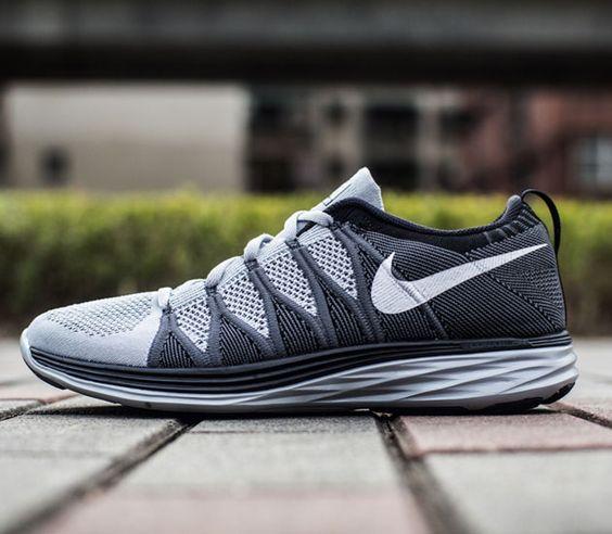 Nike Flyknit Lunar2-Wolf Grey