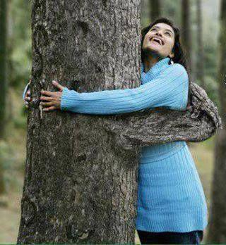 Abraza un árbol...!