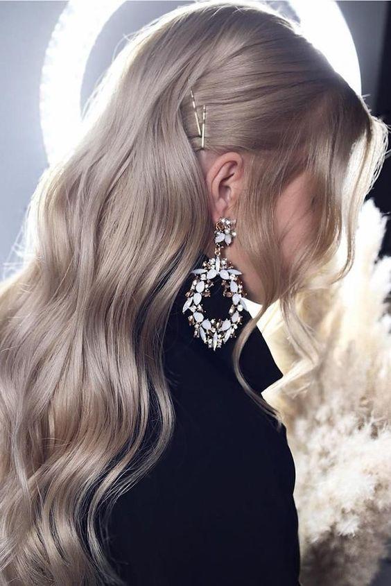 30 Inspiring Wedding Hairstyles By Tonya Stylist ❤ wedding hairstyles by tonyastylist soft waves on long blonde hair #weddingforward #wedding #bride #weddinghair #weddinghairstylesbytonyastylist
