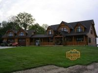 Log Home Models | Citadel III Log Home Model from True North Log Homes